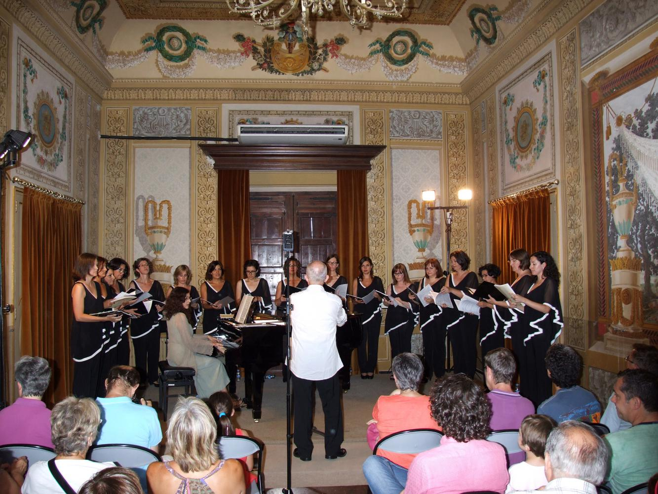 Cor Scherzo · Diana Baker, piano · Jordi Casas, director · Setmana Cantant de Tarragona 2014 · Sala Noble del Conservatori de Música de la Diputació de Tarragona
