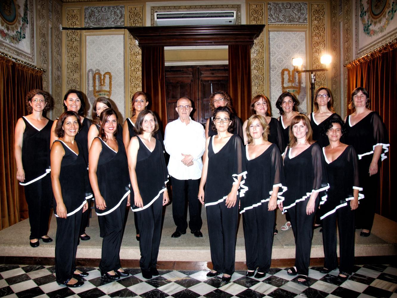Coro Scherzo · Diana Baker, piano · Jordi Casas, director · Setmana Cantant de Tarragona 2014 · Sala Noble del Conservatorio de Música de la Diputació de Tarragona