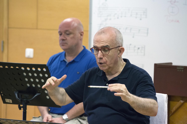 Cor Scherzo · Jordi Casas · Albert Guinovart (Foto: Ram Giner)
